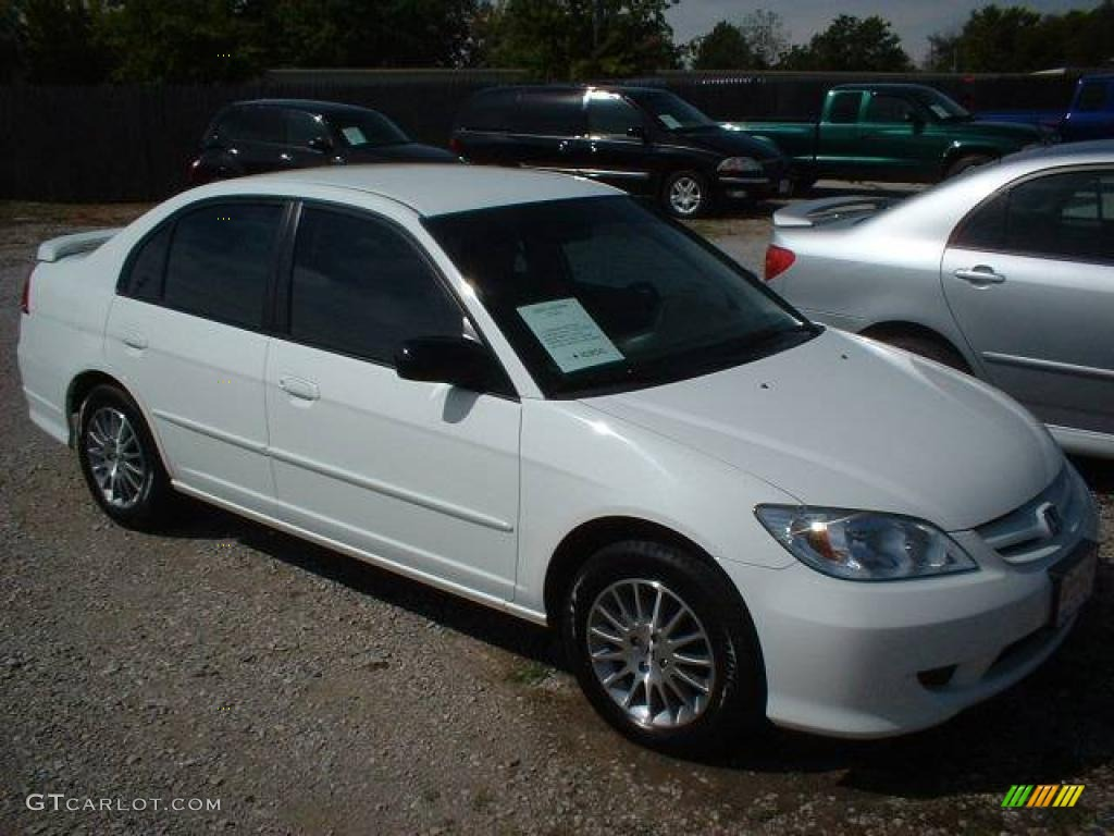2005 taffeta white honda civic lx sedan 19539199 car color galleries. Black Bedroom Furniture Sets. Home Design Ideas