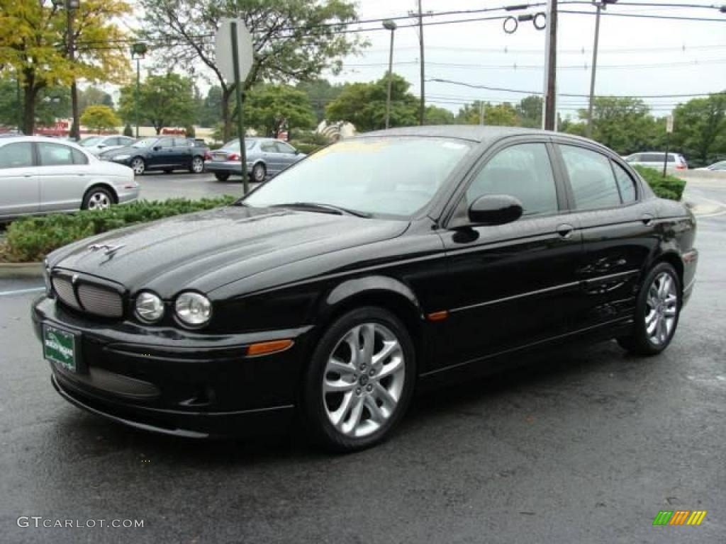 2006 ebony black jaguar x type 3 0 19485369 photo 3 car color galleries. Black Bedroom Furniture Sets. Home Design Ideas