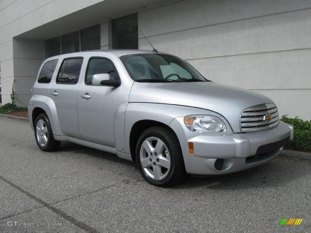 Silver Ice Metallic Chevrolet Hhr