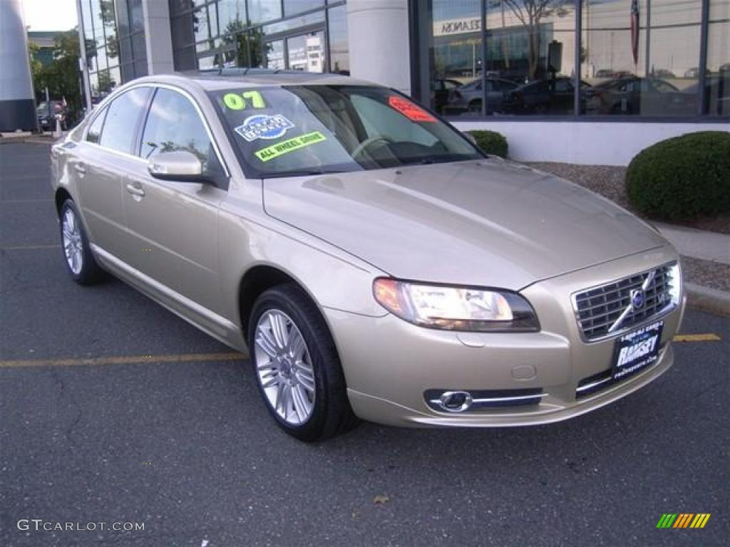 2007 shimmer gold metallic volvo s80 v8 awd 19623185. Black Bedroom Furniture Sets. Home Design Ideas