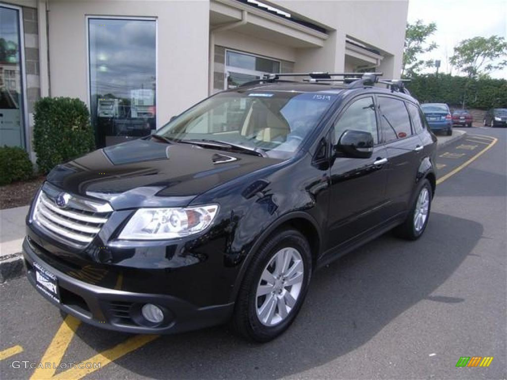 2009 obsidian black pearl subaru tribeca limited 7 passenger obsidian black pearl subaru tribeca vanachro Image collections