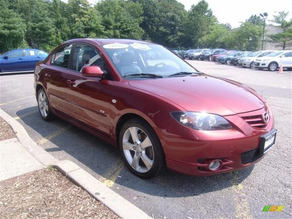 2006 copper red mica mazda mazda3 s grand touring sedan. Black Bedroom Furniture Sets. Home Design Ideas