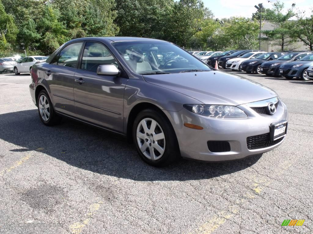 2006 tungsten gray metallic mazda mazda6 i sedan 19623158 car color galleries. Black Bedroom Furniture Sets. Home Design Ideas
