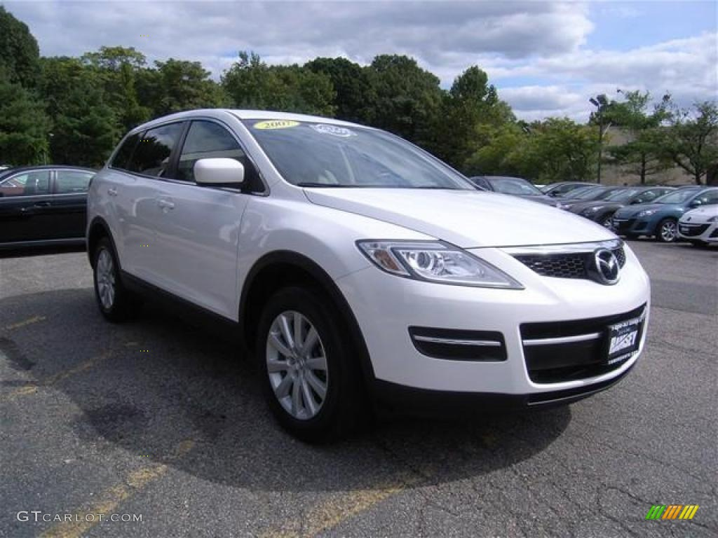 2007 crystal white pearl mica mazda cx 9 sport awd. Black Bedroom Furniture Sets. Home Design Ideas