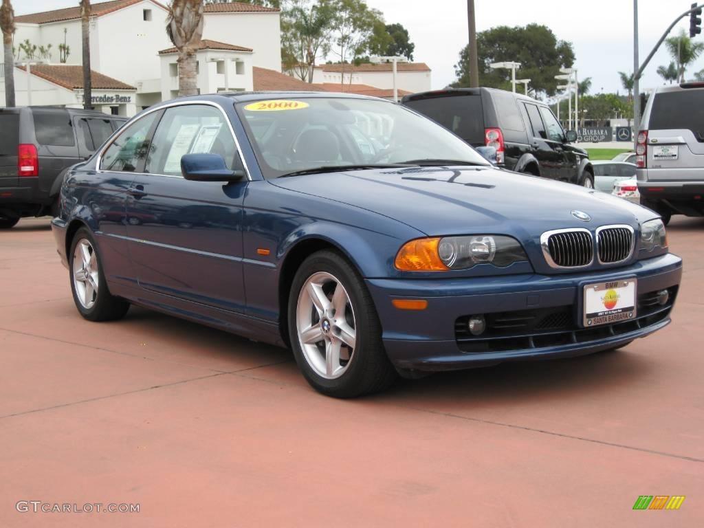 2000 Topaz Blue Metallic Bmw 3 Series 328i Coupe 19637583