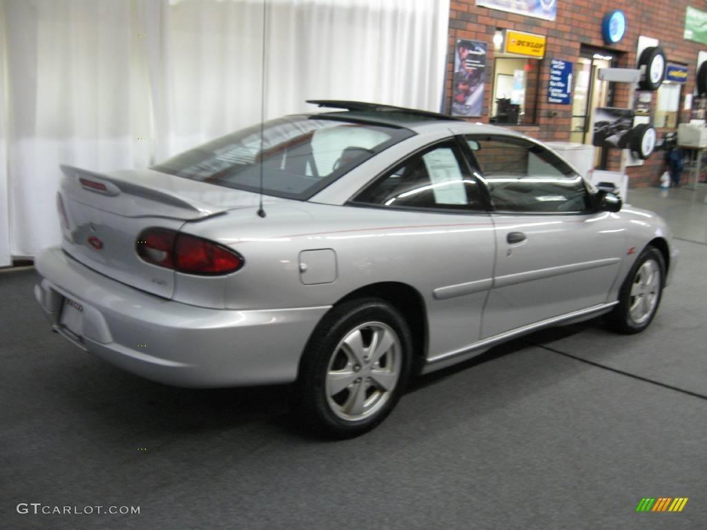 2000 Cavalier Z24 Coupe Ultra Silver Metallic Graphite Photo 3
