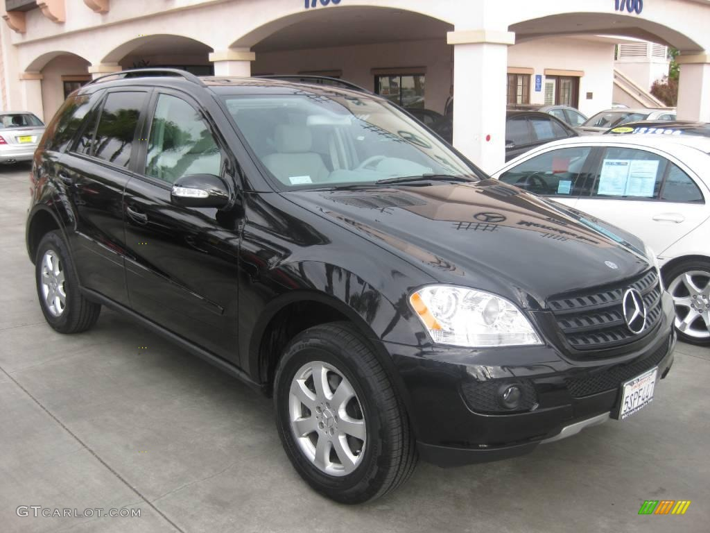 2006 Obsidian Black Metallic Mercedes Benz Ml 350 4matic 19642112