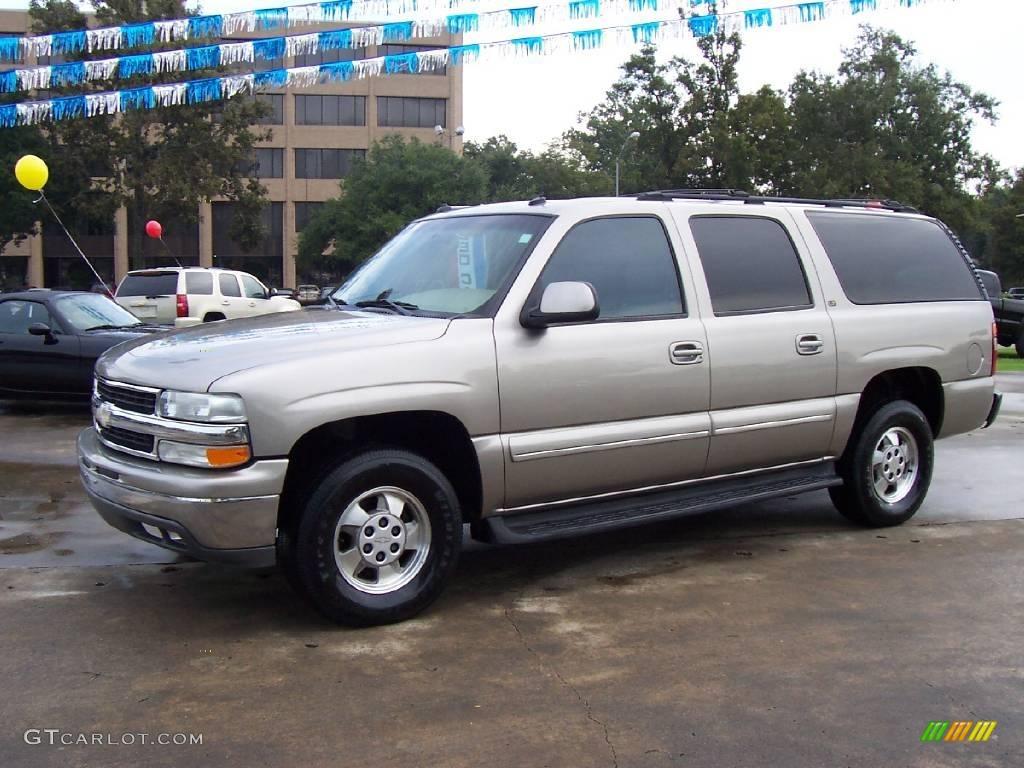 2003 sandalwood metallic chevrolet suburban 1500 lt 19706865 gtcarlot com car color galleries gtcarlot com