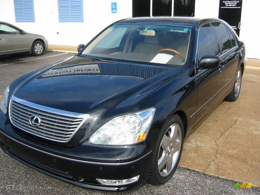 2006 Black Onyx Lexus Ls 430 19710833 Gtcarlot Com