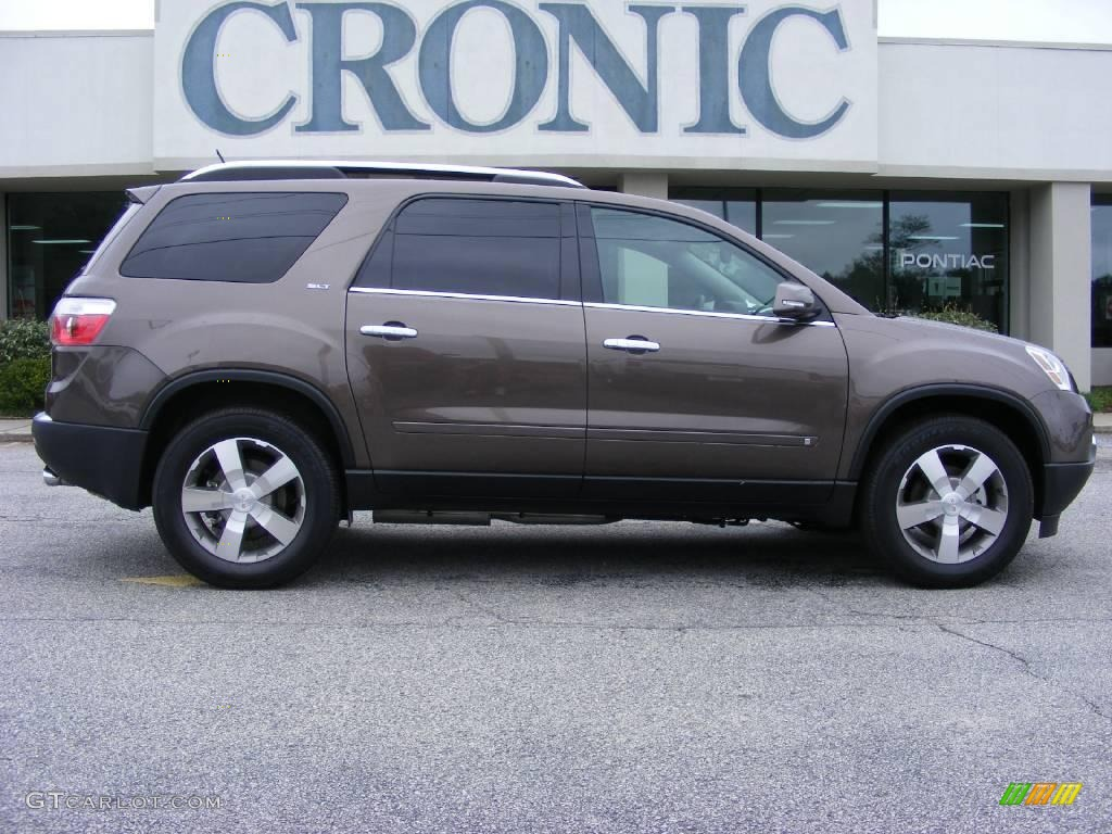 Medium brown metallic gmc acadia