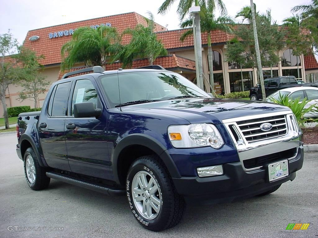 2007 ford explorer sport trac xlt dark blue pearl metallic color. Cars Review. Best American Auto & Cars Review