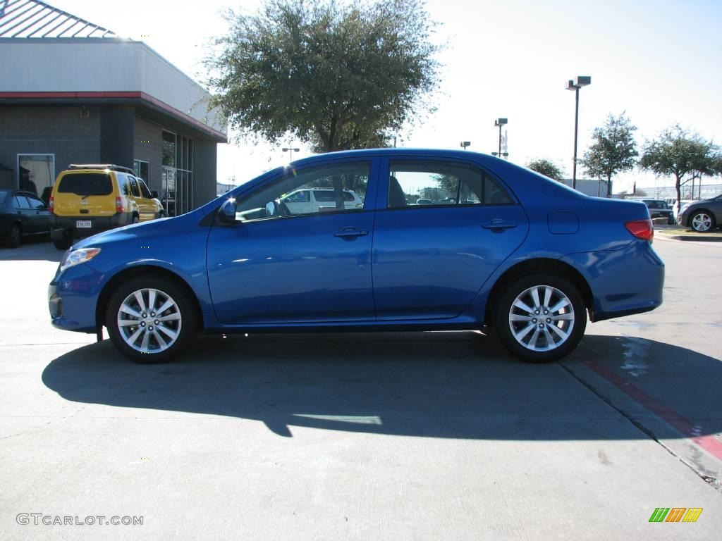 2009 blue streak metallic toyota corolla le 1964242 photo