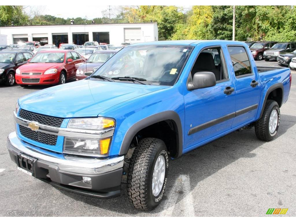 Pace blue chevrolet colorado