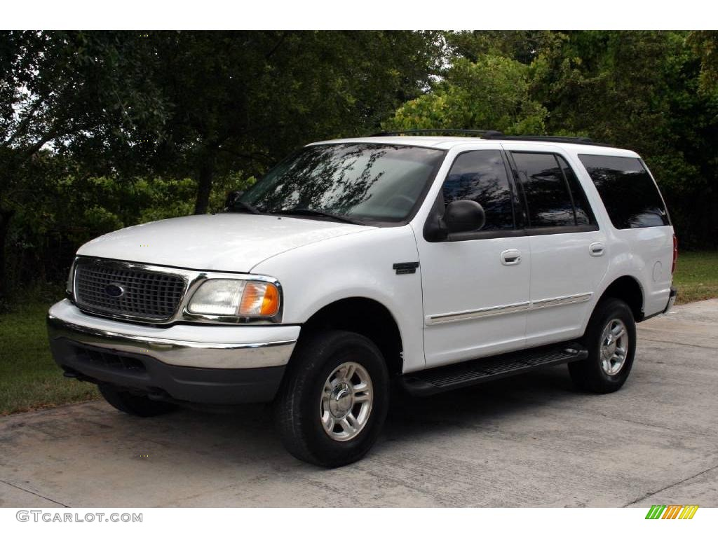 2002 Oxford White Ford Expedition Xlt 4x4 19759239