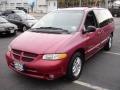 1999 Inferno Red Pearl Dodge Grand Caravan SE  photo #1