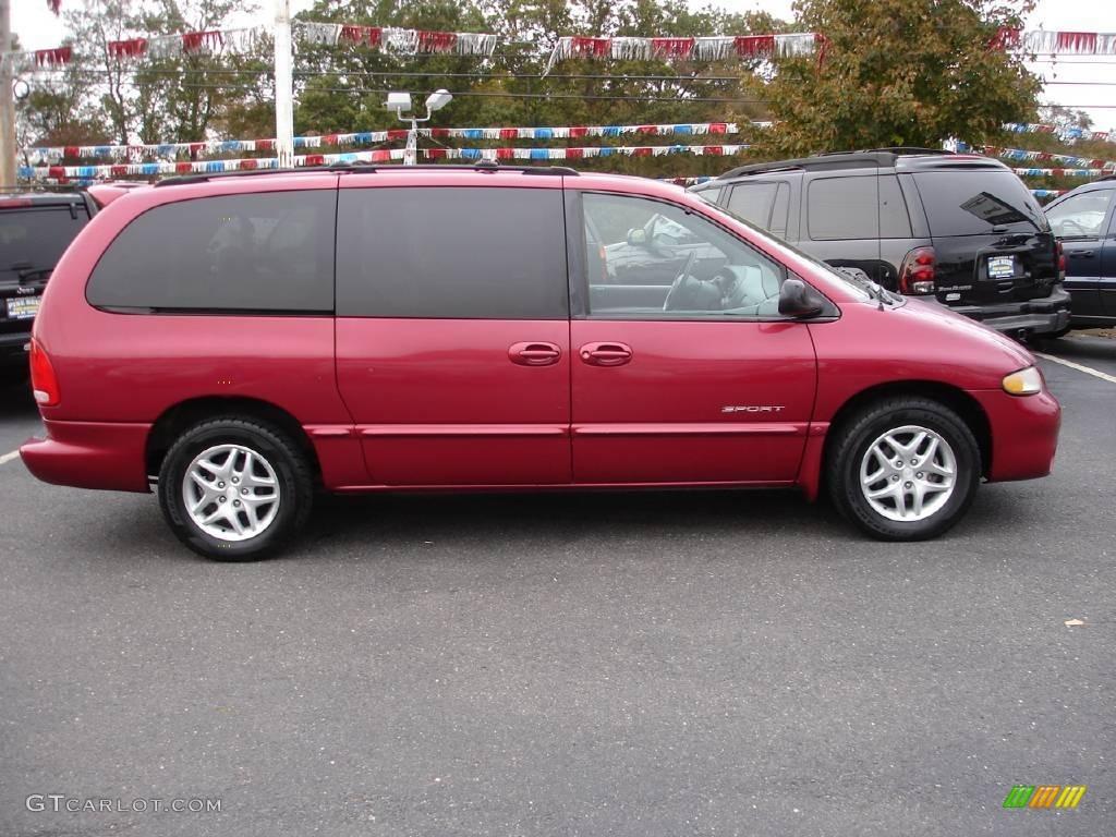 Dodge dodge 1999 caravan : 1999 Inferno Red Pearl Dodge Grand Caravan SE #19747682 Photo #3 ...