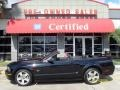 2007 Black Ford Mustang GT Premium Convertible  photo #2