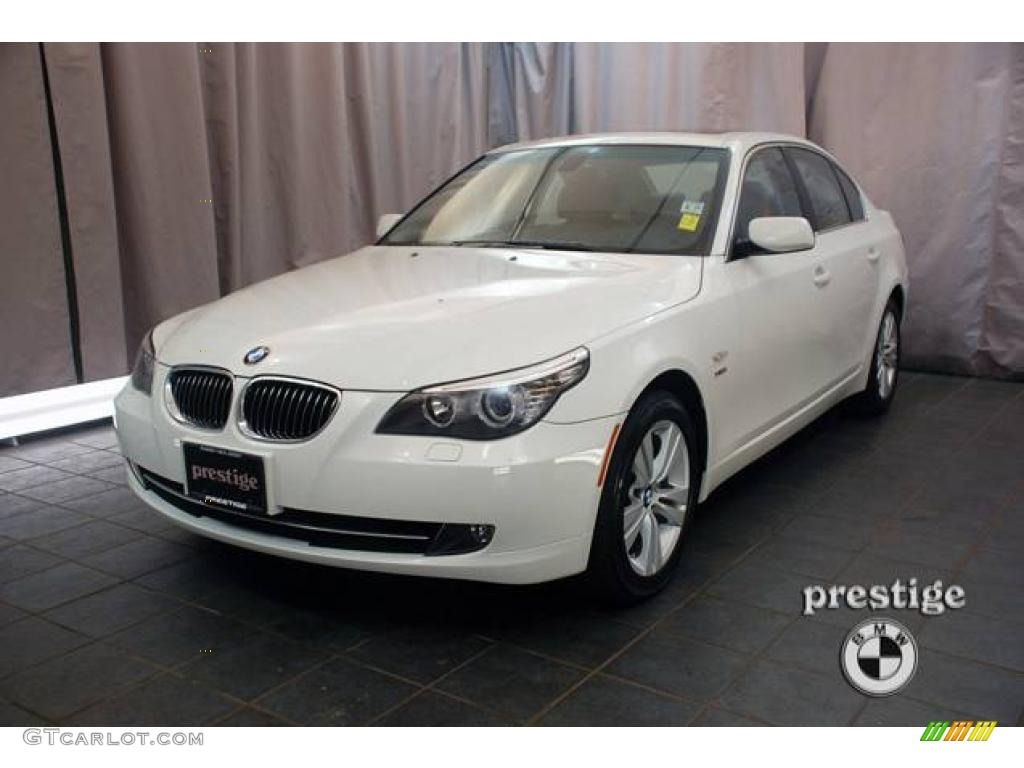 2009 alpine white bmw 5 series 528xi sedan 19749329. Black Bedroom Furniture Sets. Home Design Ideas