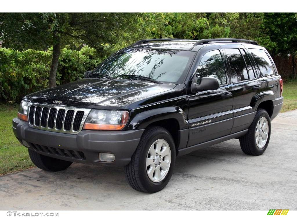 2001 black jeep grand cherokee laredo 4x4 19759238. Black Bedroom Furniture Sets. Home Design Ideas