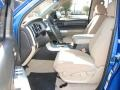 2008 Blue Streak Metallic Toyota Tundra Double Cab  photo #8