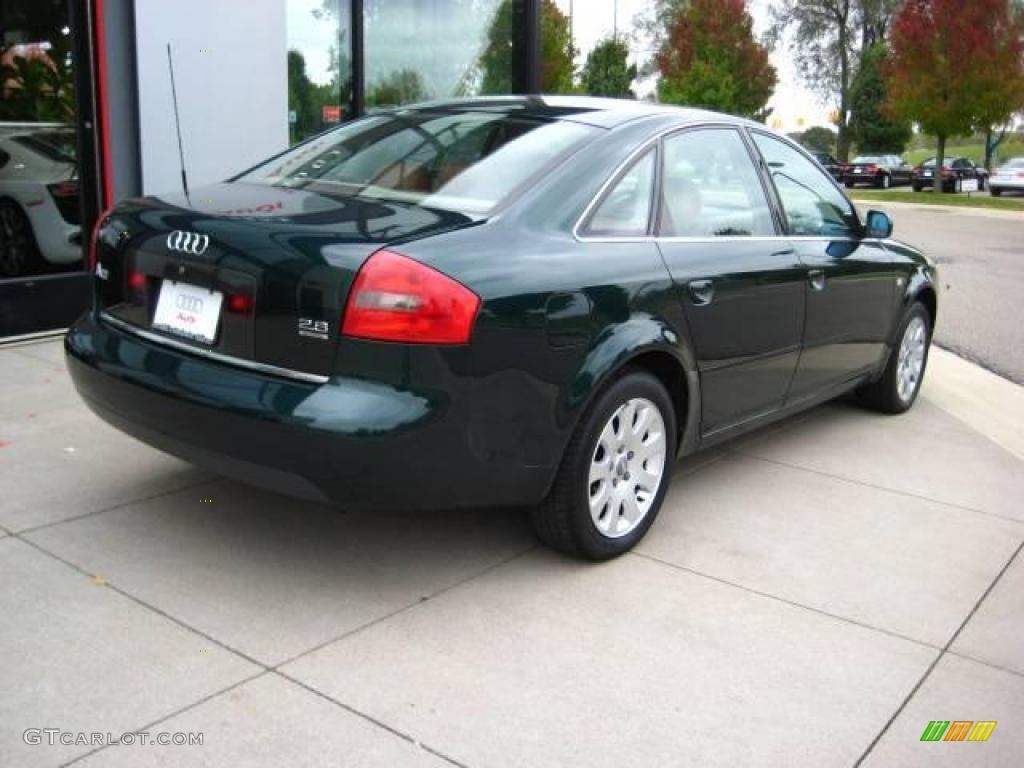 1998 racing green pearl audi a6 2 8 quattro sedan 19826022 photo 6 car color. Black Bedroom Furniture Sets. Home Design Ideas
