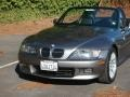 2002 Sterling Gray Metallic BMW Z3 3.0i Roadster  photo #2