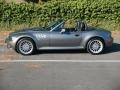 2002 Sterling Gray Metallic BMW Z3 3.0i Roadster  photo #3