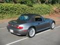 2002 Sterling Gray Metallic BMW Z3 3.0i Roadster  photo #8