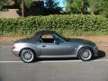 2002 Sterling Gray Metallic BMW Z3 3.0i Roadster  photo #9