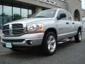 2006 Bright Silver Metallic Dodge Ram 1500 SLT Quad Cab  photo #1