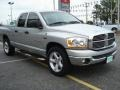 2006 Bright Silver Metallic Dodge Ram 1500 SLT Quad Cab  photo #8