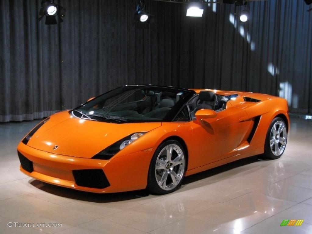 Lamborghini Gallardo Spyder E-