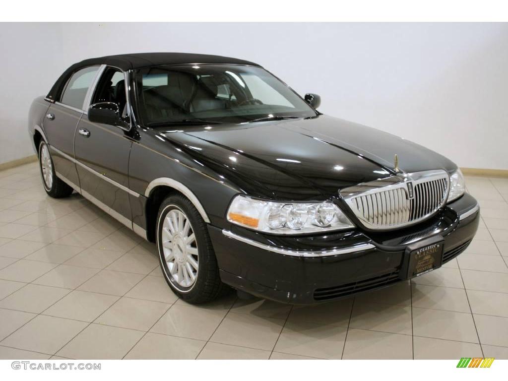 2003 Black Lincoln Town Car Signature 19834969 Gtcarlot Com Car