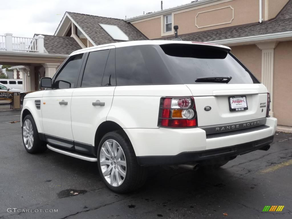 2006 chawton white land rover range rover sport supercharged 19882471 photo 4. Black Bedroom Furniture Sets. Home Design Ideas