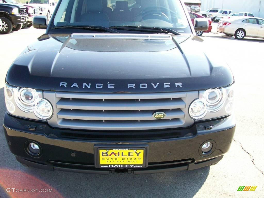 2007 Range Rover HSE - Java Black Pearl / Jet Black photo #1