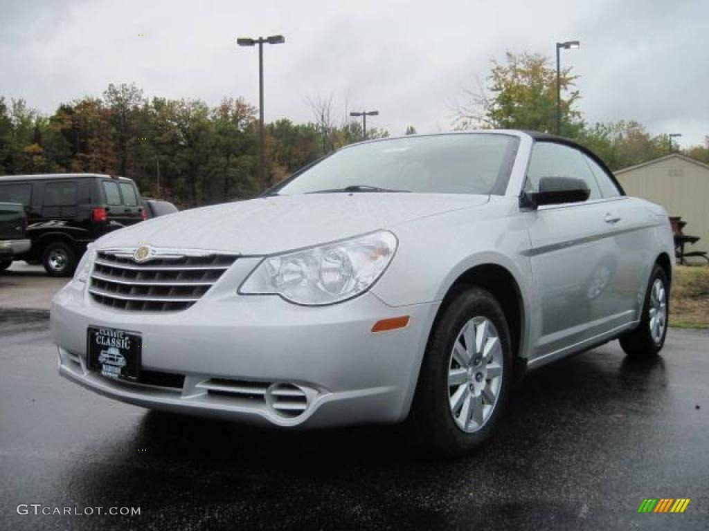 Bright Silver Metallic Chrysler Sebring