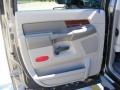 2008 Dark Khaki Metallic Dodge Ram 3500 Laramie Resistol Mega Cab 4x4 Dually  photo #35