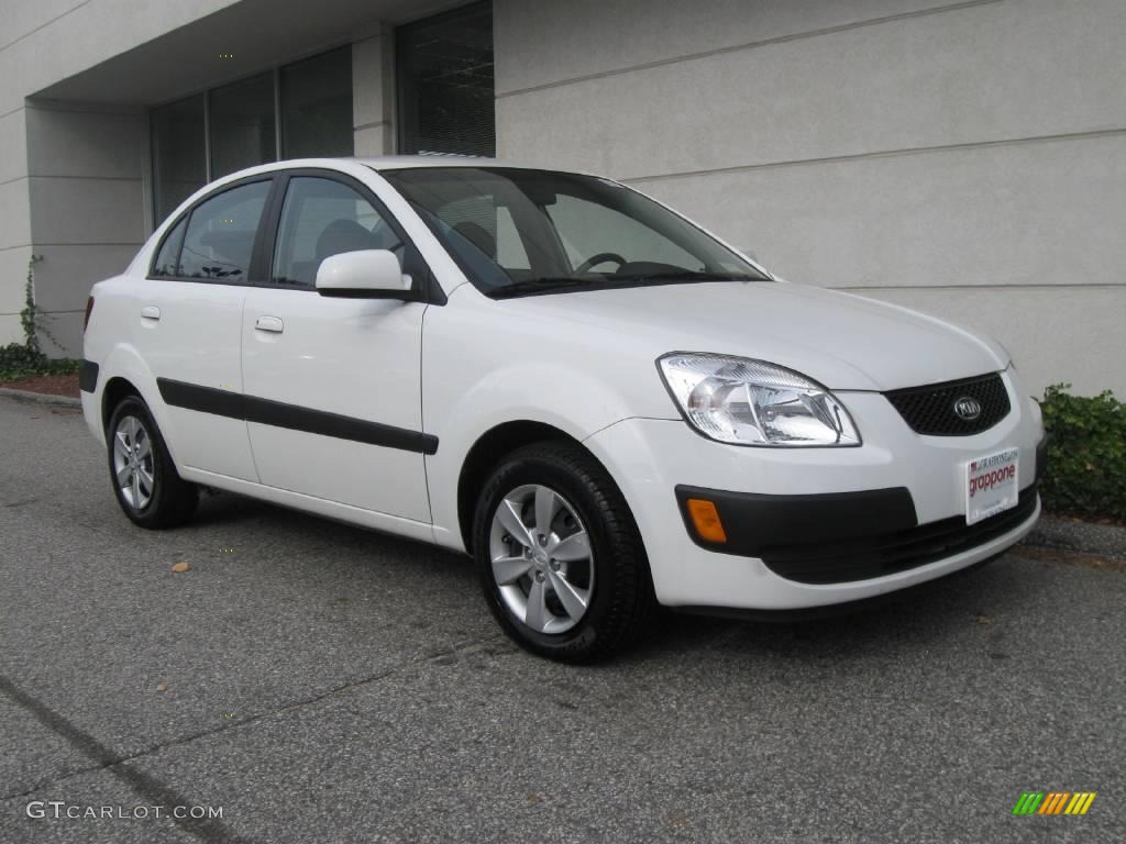 on 2006 Kia Rio Blue