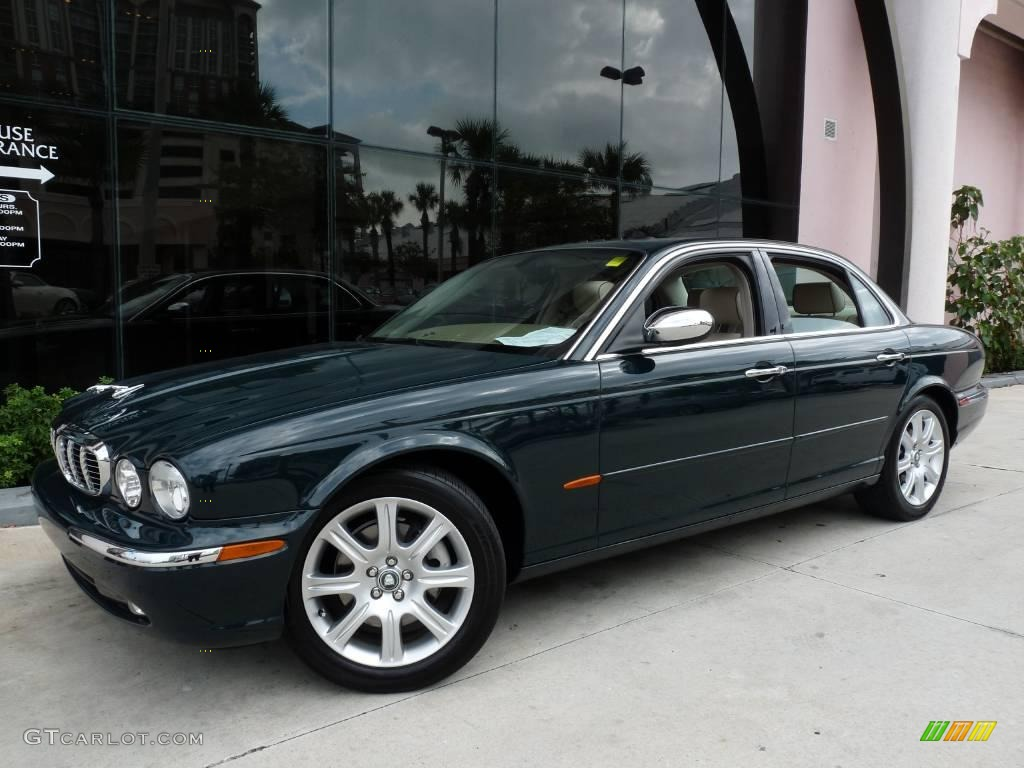 2004 British Racing Green Jaguar Xj Vanden Plas 19941462