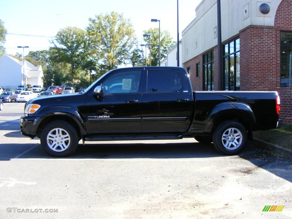 2018 Toyota Tundra Double Cab >> 2004 Black Toyota Tundra SR5 Double Cab 4x4 #20015566 Photo #4 | GTCarLot.com - Car Color Galleries