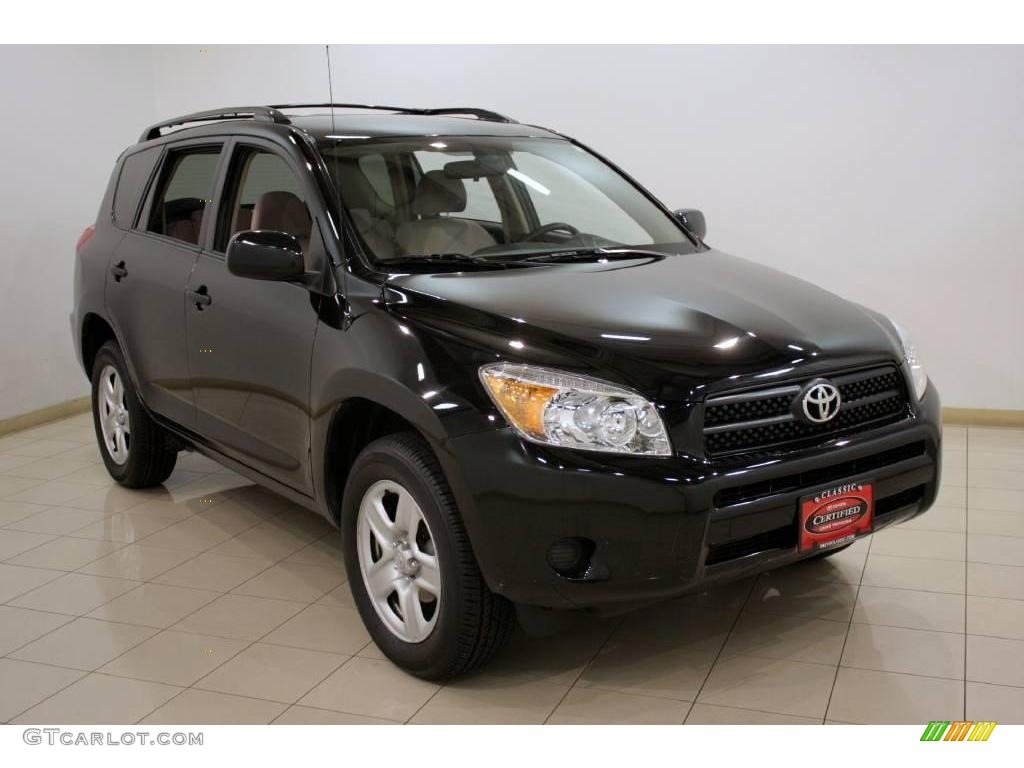 2007 black toyota rav4 4wd 20018918 car color galleries. Black Bedroom Furniture Sets. Home Design Ideas
