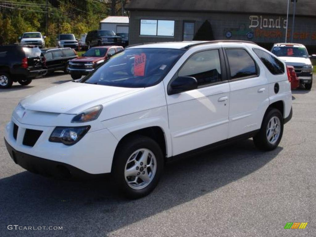 2004 aztek awd summit white dark gray photo 1