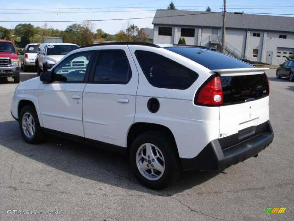 2004 aztek awd summit white dark gray photo 3
