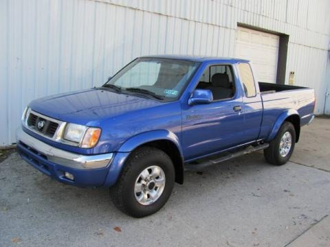 Deep Crystal Blue Nissan Frontier in 1999. Deep Crystal Blue