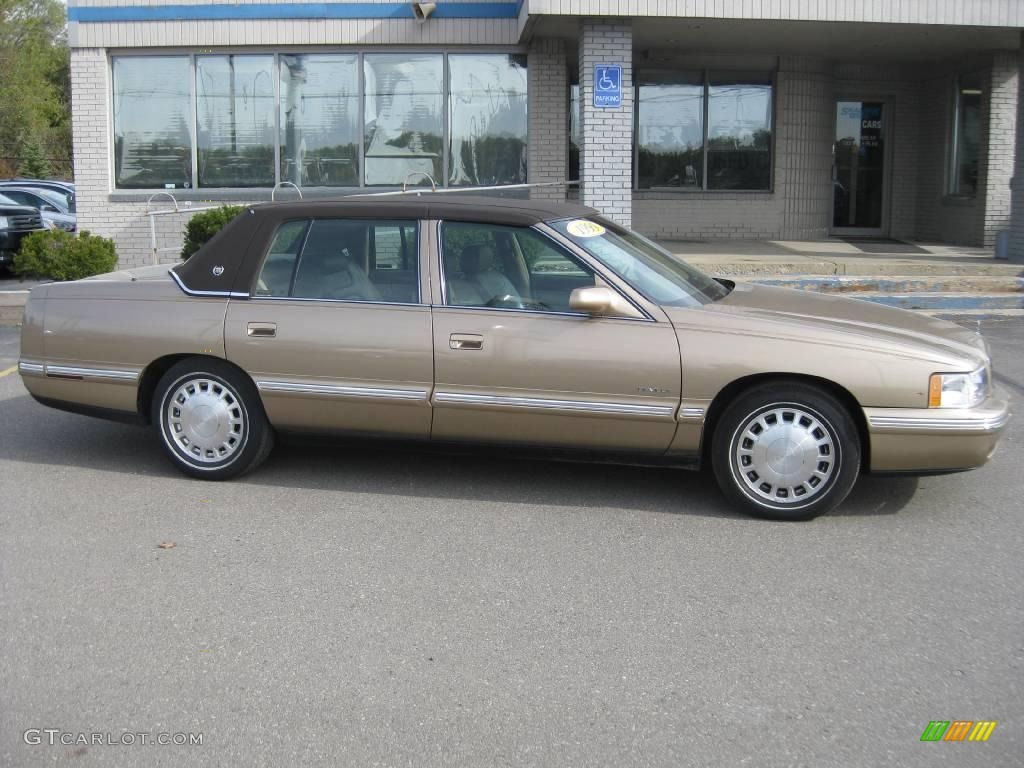 1999 gold firemist cadillac deville sedan 20013603. Cars Review. Best American Auto & Cars Review
