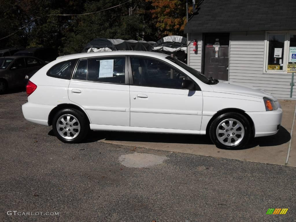 2003 polar white kia rio cinco hatchback 20009611 photo. Black Bedroom Furniture Sets. Home Design Ideas