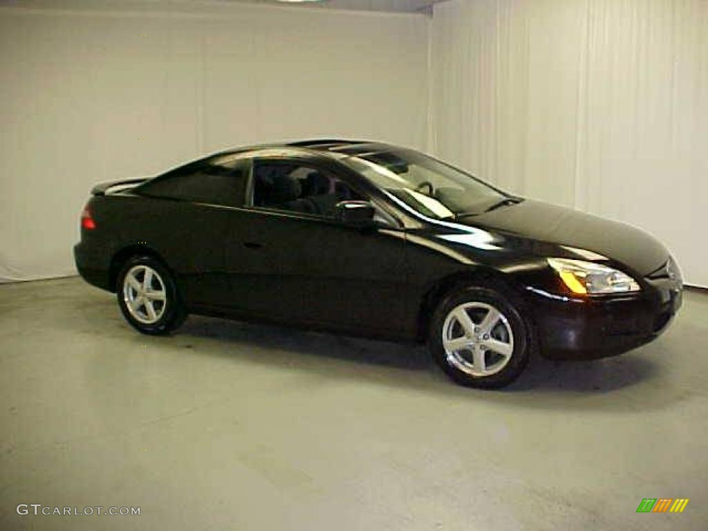 2003 Nighthawk Black Pearl Honda Accord Ex Coupe 20016130