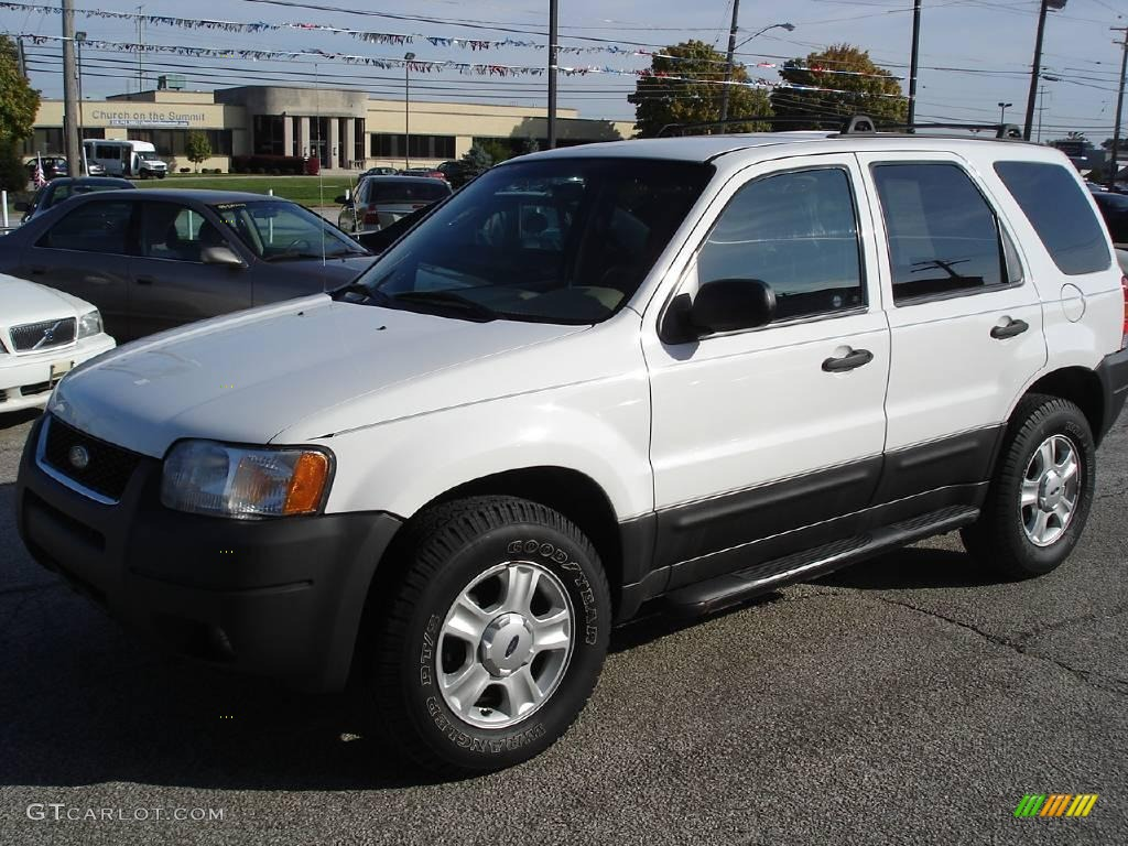 2003 oxford white ford escape xlt v6 20078041 gtcarlot. Black Bedroom Furniture Sets. Home Design Ideas