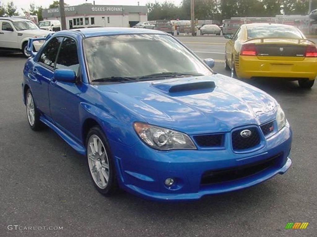 """IMCDb.org: 2006 Subaru Impreza WRX STi [GD] in """"Blue ...  2006 Subaru Impreza Wrx Blue"""