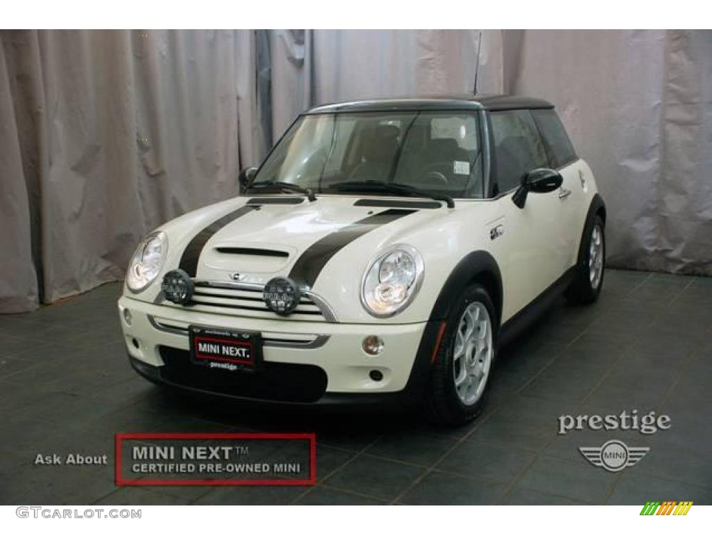 2005 pepper white mini cooper s hardtop 20065141 car color galleries. Black Bedroom Furniture Sets. Home Design Ideas